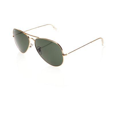 Ray-Ban-Aviador-3026-Dourado-Óculos-de-Sol