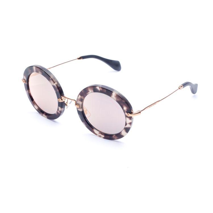 Oculos Miu Miu 13NS UBB2D2 - Compre Online - oticaswanny eb6ed40fee