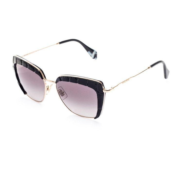6acf885e99e8d Oculos de sol Miu Miu 5QS Original - oticaswanny
