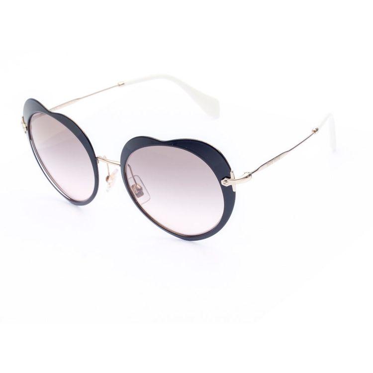 4ced2c3770059 Oculos de sol Miu Miu Coracao 54R - oticaswanny