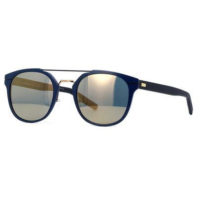 Oculos-de-sol-Dior-Al13-205-Azul-Dourado