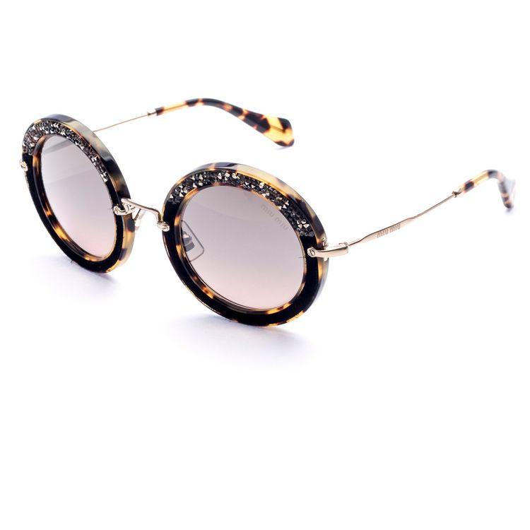 Miu Miu Pave 08RS 7S04P0 - Oculos de sol - oticaswanny 4c268fd326