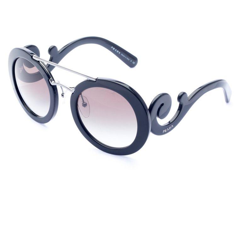 27c2a012e Oculos de sol Prada Baroque Evolution 13SS 1AB0A7 - oticaswanny
