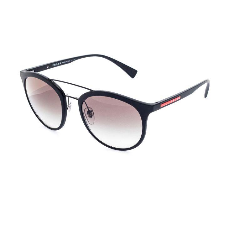 Oculos Prada Linea Rossa 04RS Preto - oticaswanny fb248b688c