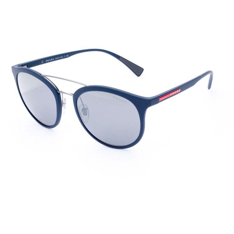 0c673e448ddcf Oculos Prada Sport 04RS Azul Espelhado - oticaswanny