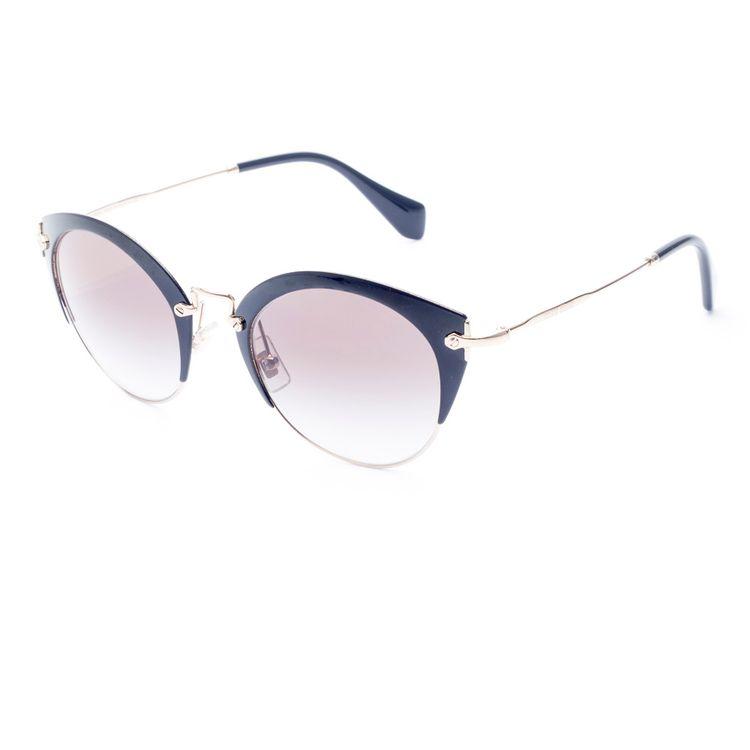 8b72e6c5736cd Oculos de sol Miu Miu 53R 1AB0A Preto Original - oticaswanny
