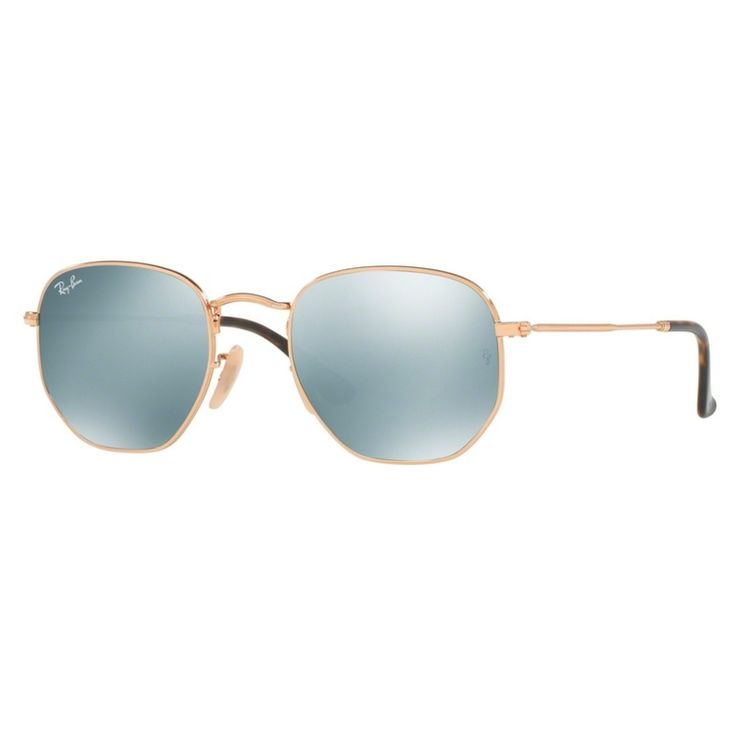 Ray Ban Hexagonal 3548N 00130 Tam 51 - Oculos de Sol 325e082540