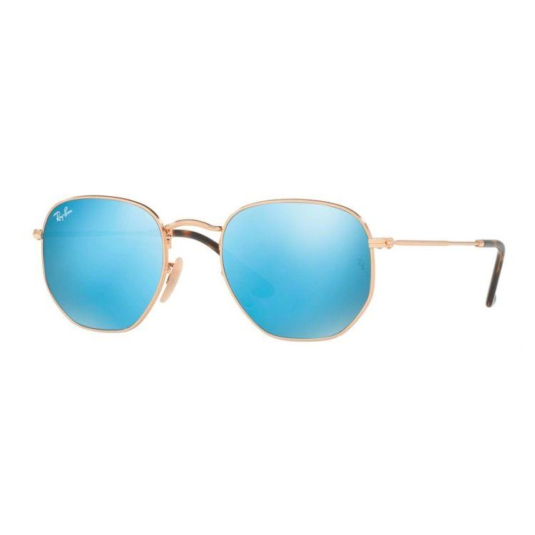 Ray Ban Hexagonal 3548N 0019O - Oculos de Sol d60a571391