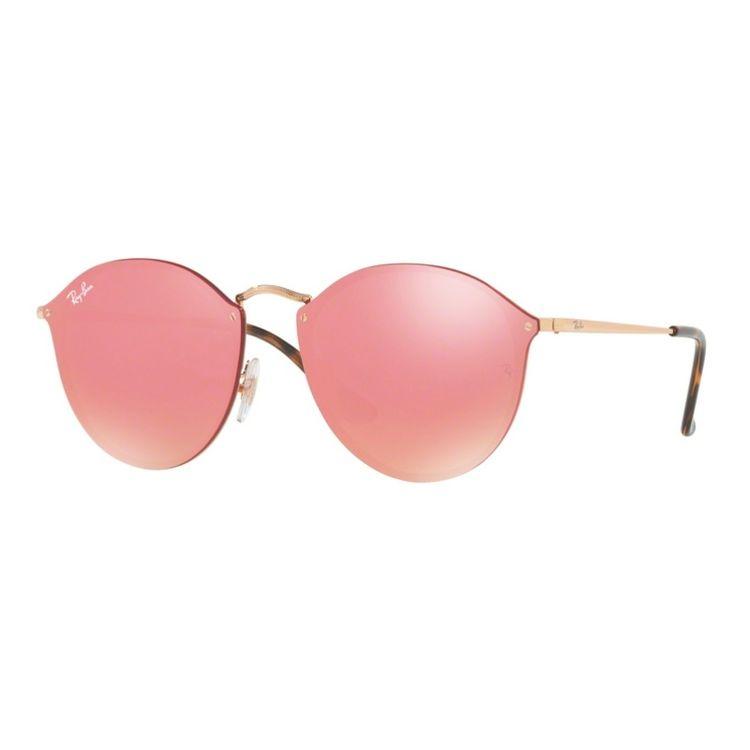 Ray Ban Blaze Round 3574N 001E4 - Oculos de Sol - oticaswanny b2f291bca5