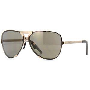 Oculos-de-sol-Porsche-Design-8678-Dourado-Cinza--Marrom