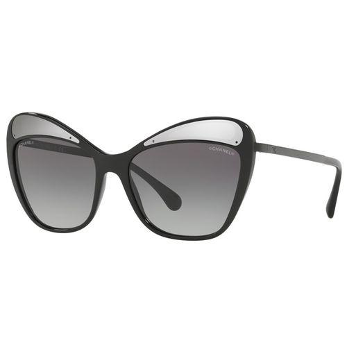 Oculos-de-sol-Chanel-Butterfly-Runway-5377-Preto