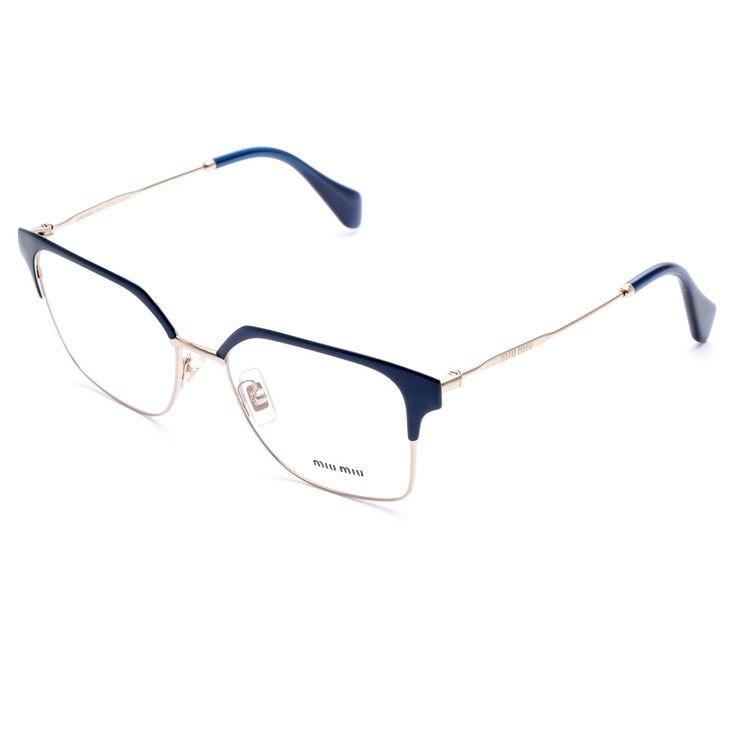 Óculos de Grau Miu Miu Meio Aro – oticaswanny d2ca7fd0d0