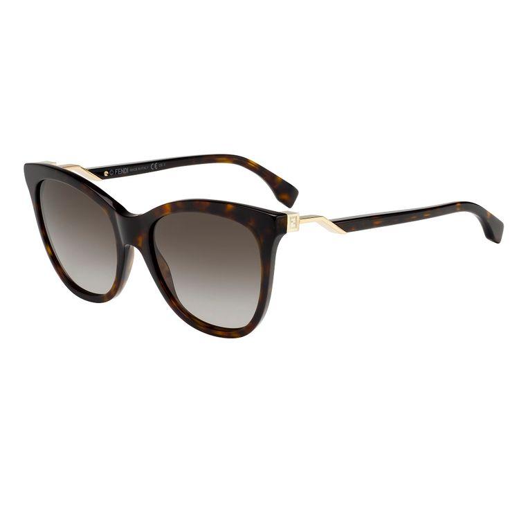 6c95656a9e86f Oculos de Sol Fendi 200 Marrom Tartaruga Original - oticaswanny