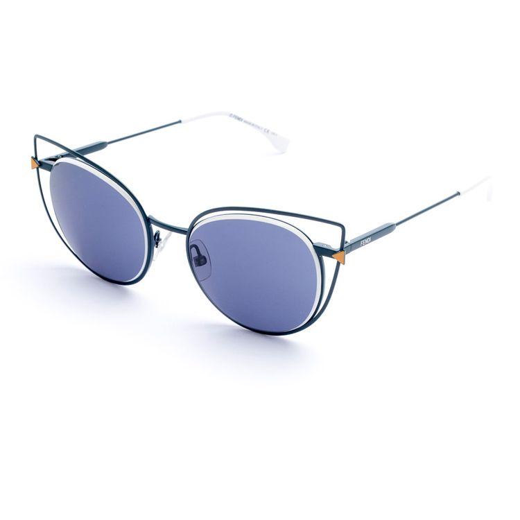 Oculos de sol Fendi 176 Azul Original - oticaswanny 193e804dac