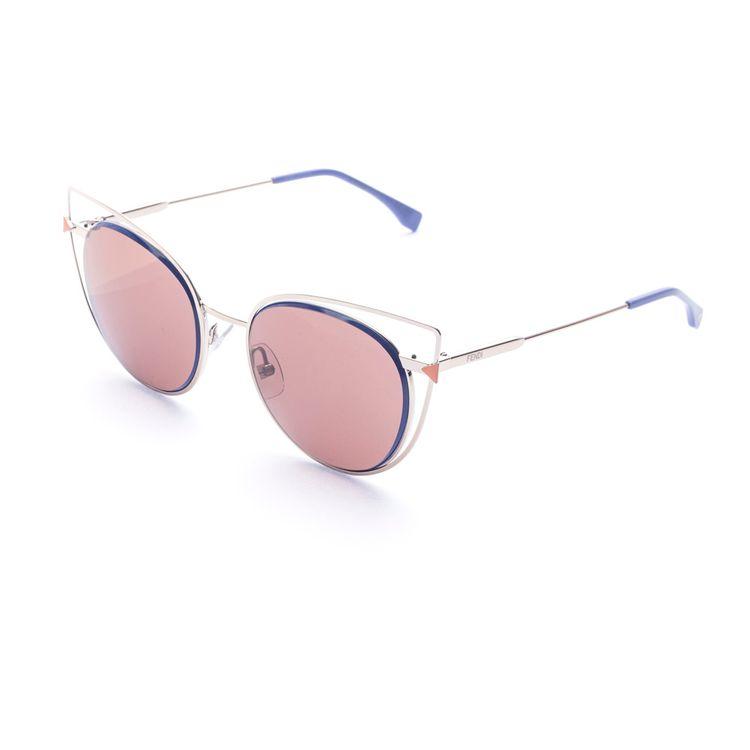 Fendi Eye Color 176 3YGUT - Oculos de Sol Original - oticaswanny 6e26063a24