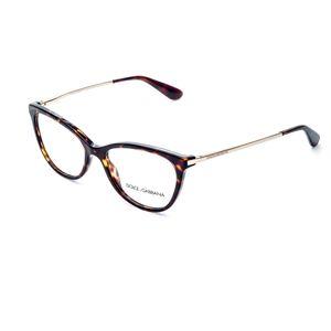 524c75d2ec86e Dolce---gabbana em Óculos de Grau Marrom – wanny