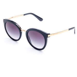 3d2518686 Óculos de Sol Dolce & Gabbana de R$501,00 até R$1.000,00 Preto Cinza ...
