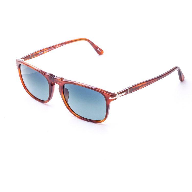 Oculos de sol Persol 3059S Azul Polarizado - oticaswanny 9c5d0140bb