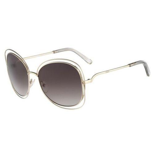 Oculos de sol Chloe Carlina Quadrado - oticaswanny ac13660be4