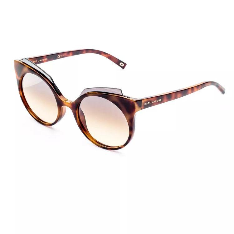 Oculos de Sol Marc Jacobs 105 Tartaruga Espelhado - oticaswanny 80e133782a