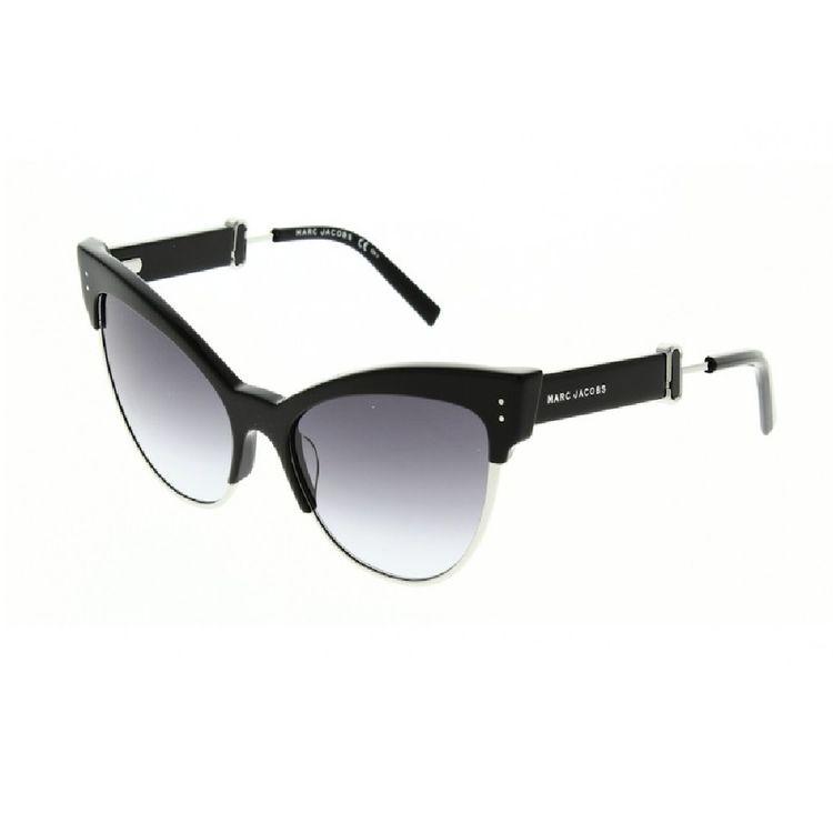 030421534 Oculos de Sol Marc Jacobs 128 Preto - oticaswanny