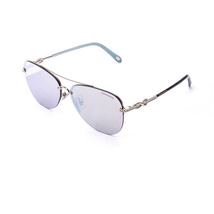 Oculos de Sol Tiffany 3054B Prata Espelhado - oticaswanny dc248716e0