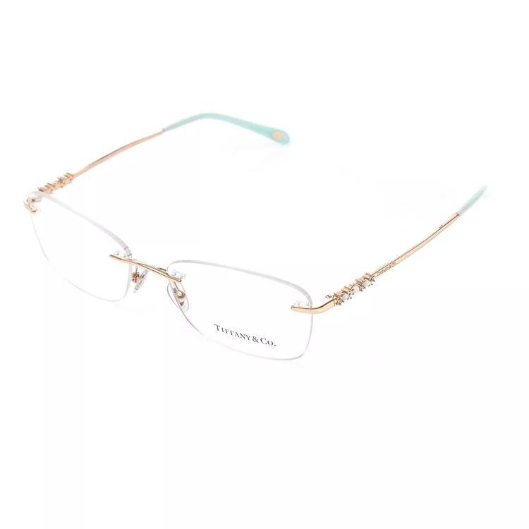 091230385 Oculos de Grau Tiffany 1110 Dourado - oticaswanny