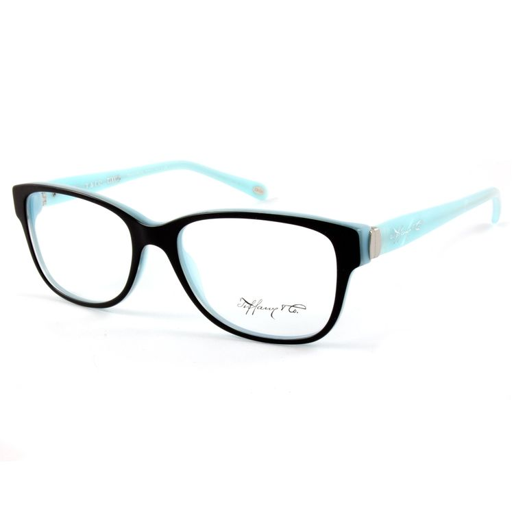 Oculos de Grau Tiffany 2084 Preto Turquesa - oticaswanny be991a4c96