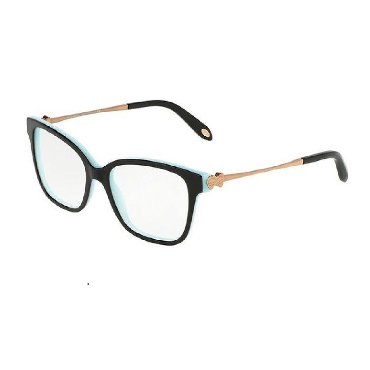 Oculos de Grau Tiffany 2141 Preto Dourado - oticaswanny 90ef487b43