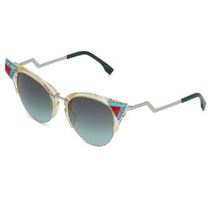 f605f70ed Fendi Iridia FF 0041 C1EEQ - Oculos de Sol