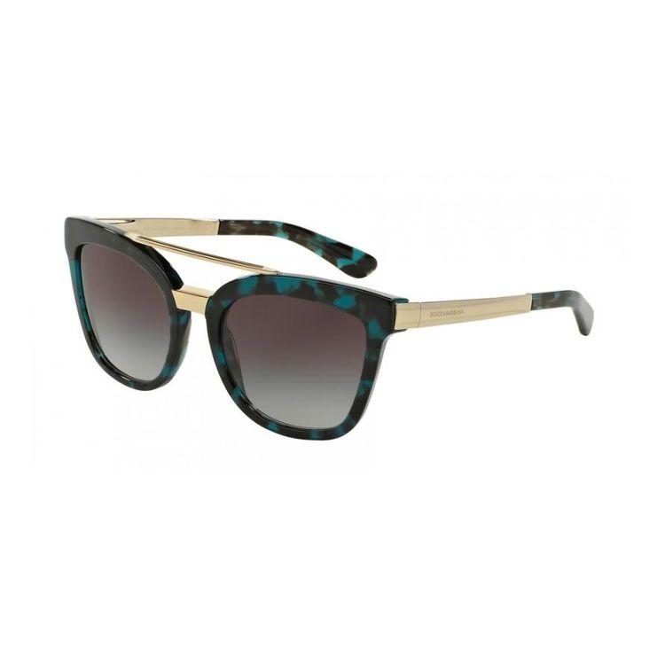 Oculos de sol Dolce Gabbana 4269 Havana Azul - oticaswanny a8525be8dd