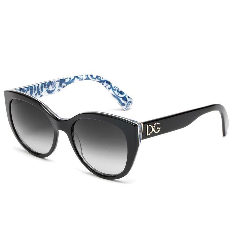 Oculos de sol Dolce Gabbana 4127 Preto - oticaswanny a3c73e62e8