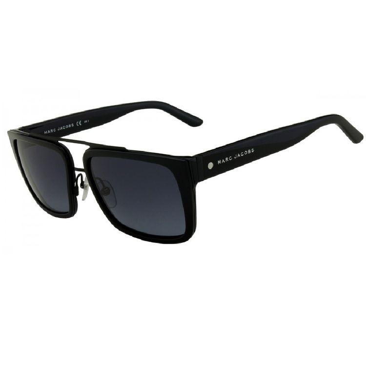 9035f7810 Oculos de Sol Marc Jacobs 57S Preto - oticaswanny