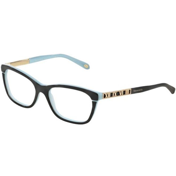 fca3013a9 Oculos de grau Tiffany 2102 Preto Azul Original - wanny