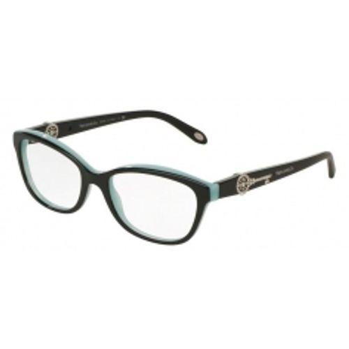 5e46ef06aea31 Oculos de grau Tiffany 2127B Preto Azul original - wanny