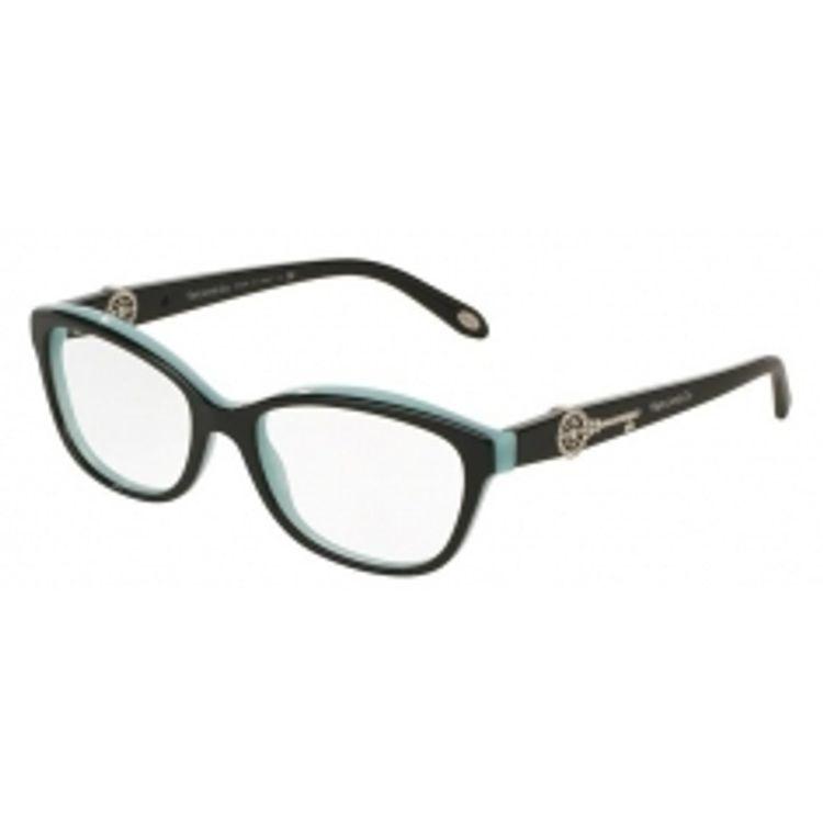 b26d536df Oculos de grau Tiffany 2127B Preto Azul original - oticaswanny