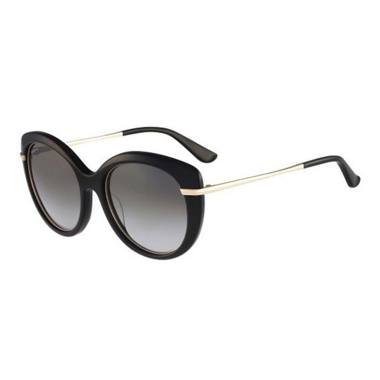 da40bf0c8 Oculos de Sol Salvatore Ferragamo 724 Preto - oticaswanny