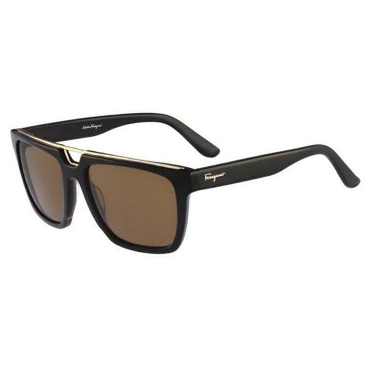 4515c4fcc Oculos de Sol Salvatore Ferragamo 731 Preto - oticaswanny
