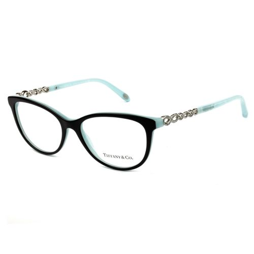 4163e19c5 Oculos de grau Tiffany 2120B Preto Azul Original - oticaswanny
