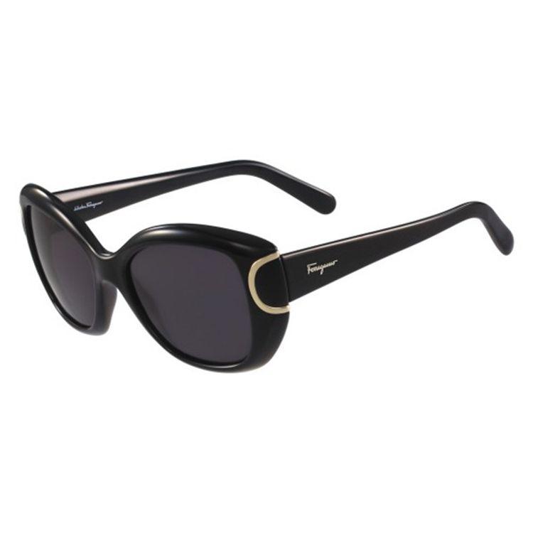 961f64791a Oculos de Sol Salvatore Ferragamo 819 Preto - oticaswanny
