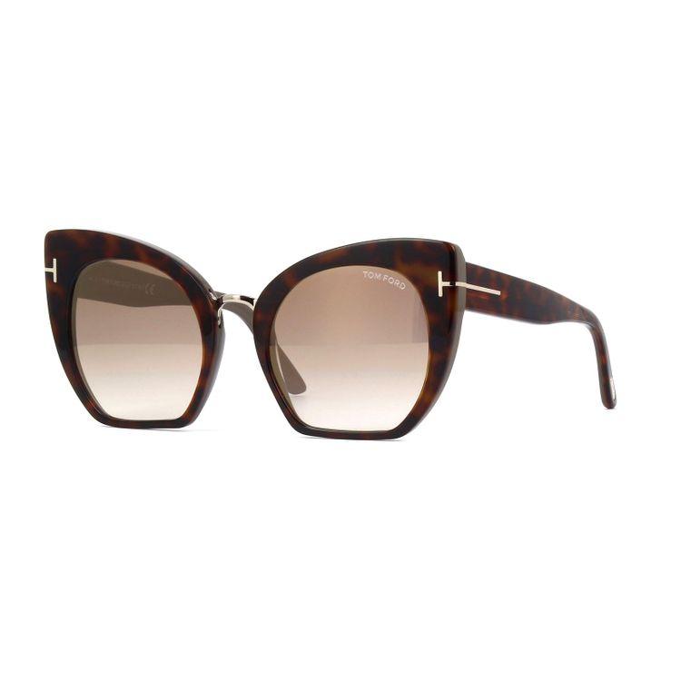662749b006cb0 Oculos de Sol Tom Ford Samantha 553 Tartaruga - oticaswanny