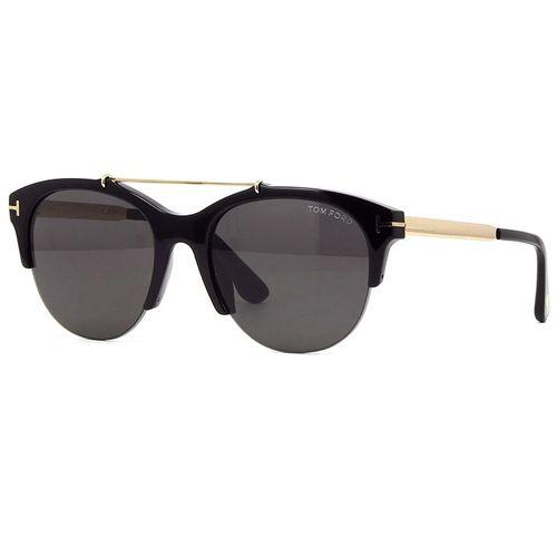 5ca33a1919228 Oculos de Sol Tom Ford Adrenne 517 Preto - oticaswanny