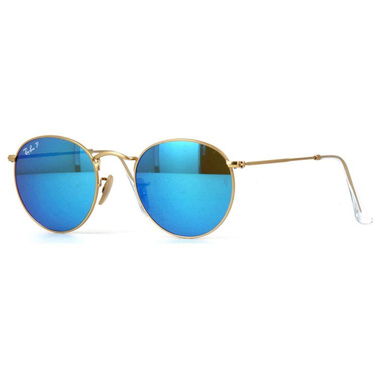Oculos de Sol Ray Ban Round 1124L Original - oticaswanny ef29d36cf8