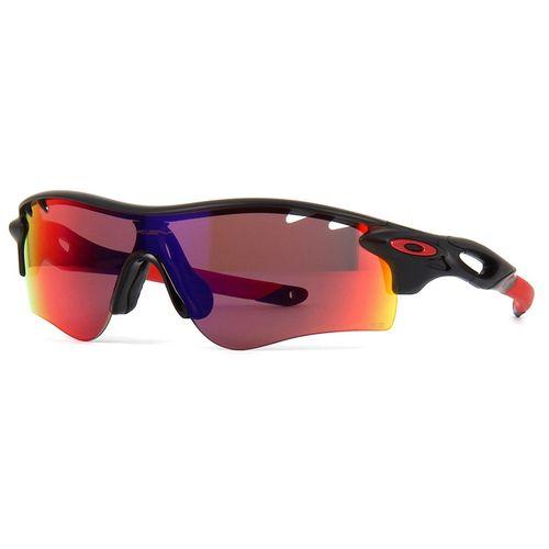 c9a357d9c5ce1 Oculos de sol Oakley RadarLock Path Preto Vermelho - oticaswanny