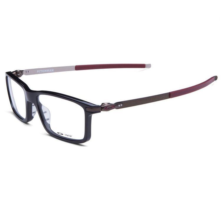 cbab9098a Oculos de Grau Oakley Pitchman 8050 Preto - oticaswanny