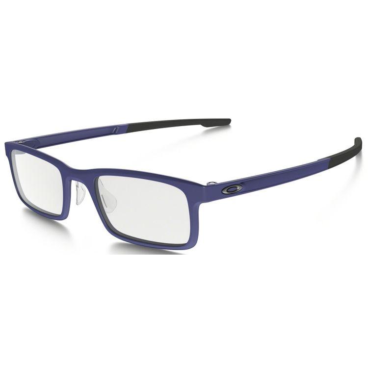3ccc6e13b Oculos de Grau Oakley Milestone 8047 Azul - oticaswanny