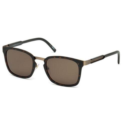 Oculos de sol Mont Blanc 591 Marrom - oticaswanny 72e51f0b30