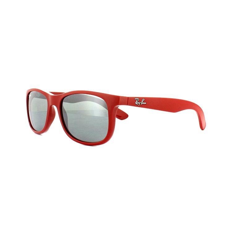 e5fc4d17f8938 Oculos de Sol Ray Ban Junior 9062 70156G Vermelho Original - oticaswanny