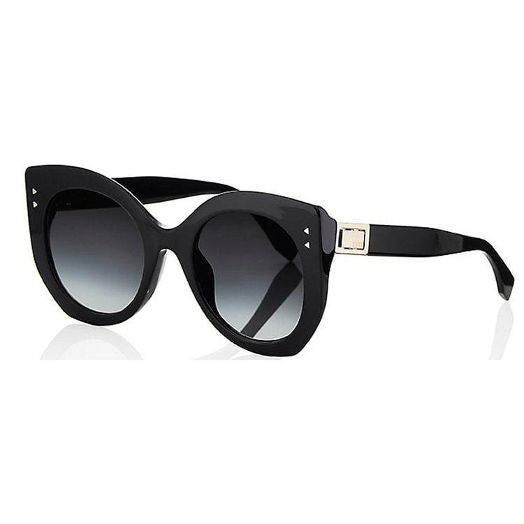 Oculos de Sol Fendi Peekaboo Preto Original - oticaswanny c5222bd27a