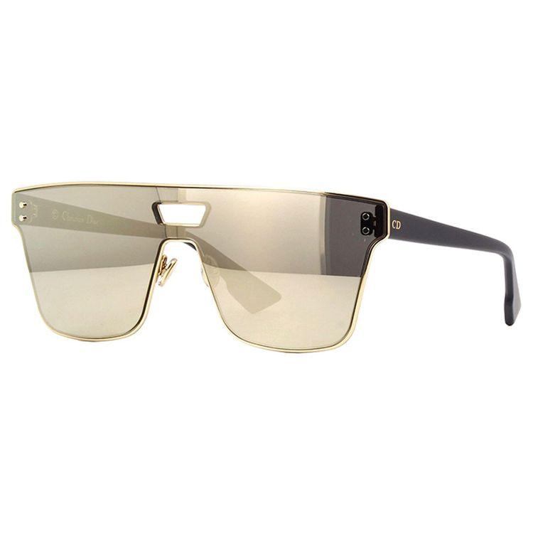 85729625d Oculos Solar Dior Izon 1 Dourado Original - oticaswanny